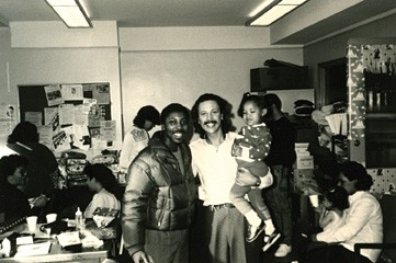 1986: A Christmas Angel! Holidays can be tough in impoverished homes, so Angel and the Glover staff offer kids and their families an annual holiday tradition of caring and sharing.